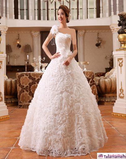 لباس عروس های مدل کره ای