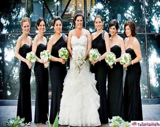 عکس عروسی پر جمعیت