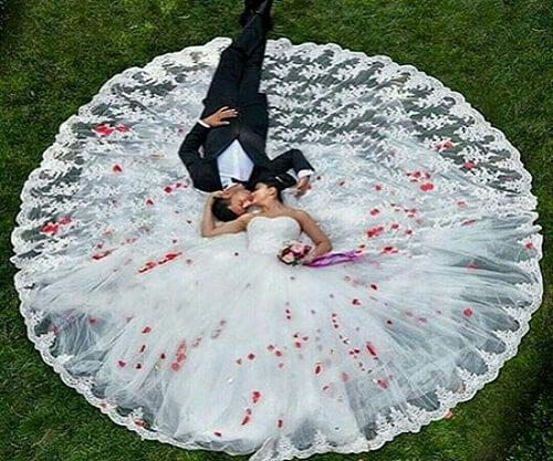 تالار عروسی - جملات زیبای عروس و داماد در روز عروسی