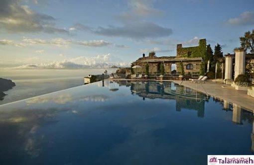 هتل تالار پذیرایی بلموند در راولو- ایتالیا