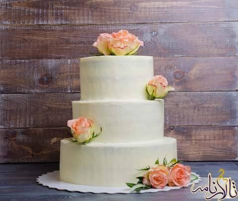 کیک عروسی - کیک عقد - کیک نامزدی - کیک چند طبقه - کیک ویژه