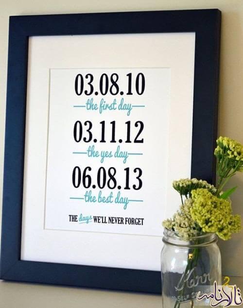 سالگرد عروسی - خرید کادو سالگرد ازدواج