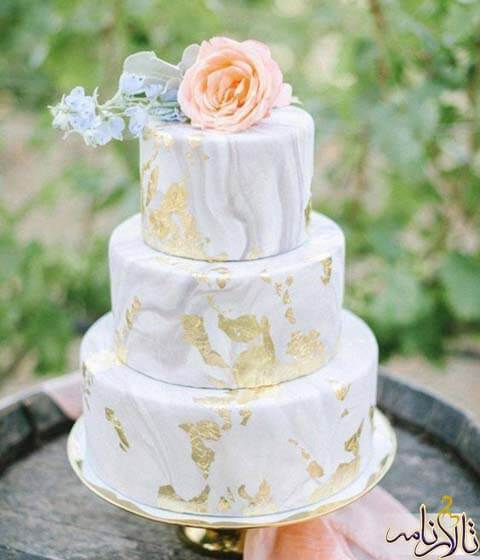 10 مدل کیک عروسی - کیک عقد - کیک نامزدی