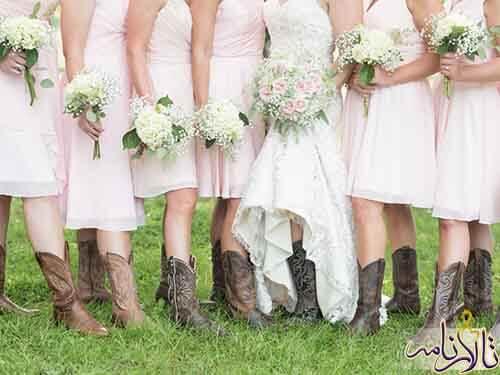 کفش عروسی - خرید کفش عروس - برگزاری مراسم عروسی