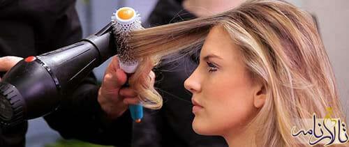 درمان موی آسیب دیده و شکسته شده