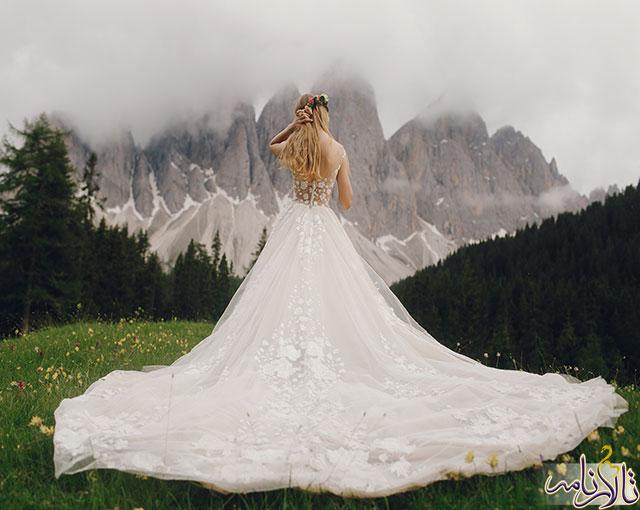 لباس عروس مدل 2018