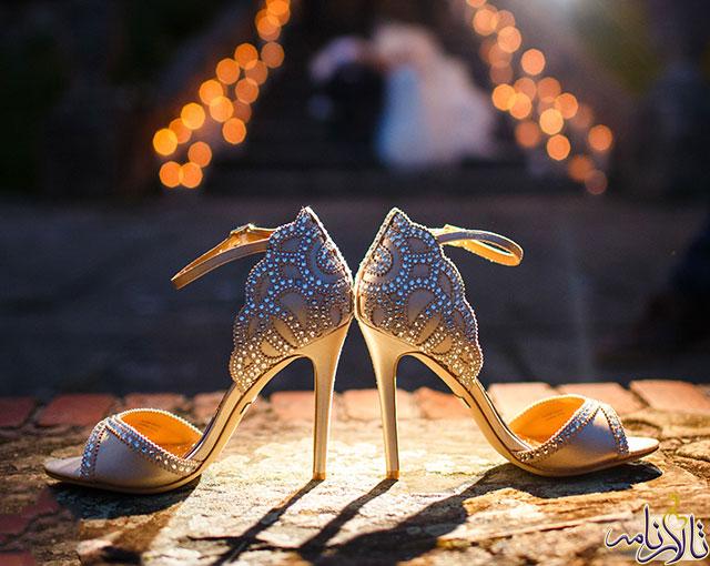 بايد ها و نبايد ها در پيدا كردن يك كفش مناسب برای عروس خانم ها