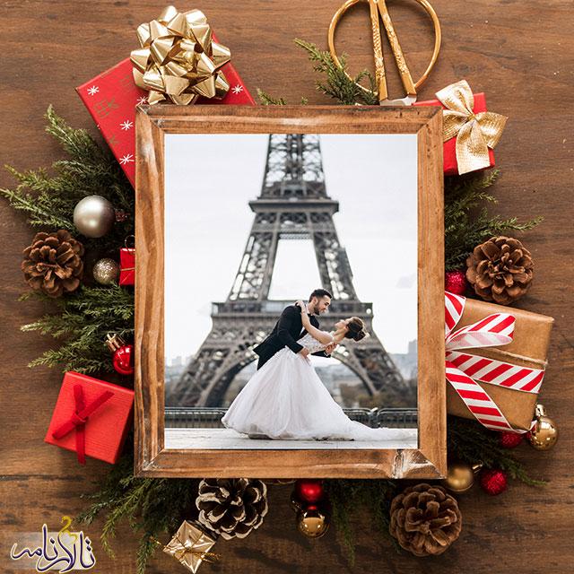 5 ایده عروسی به سبک کریسمس