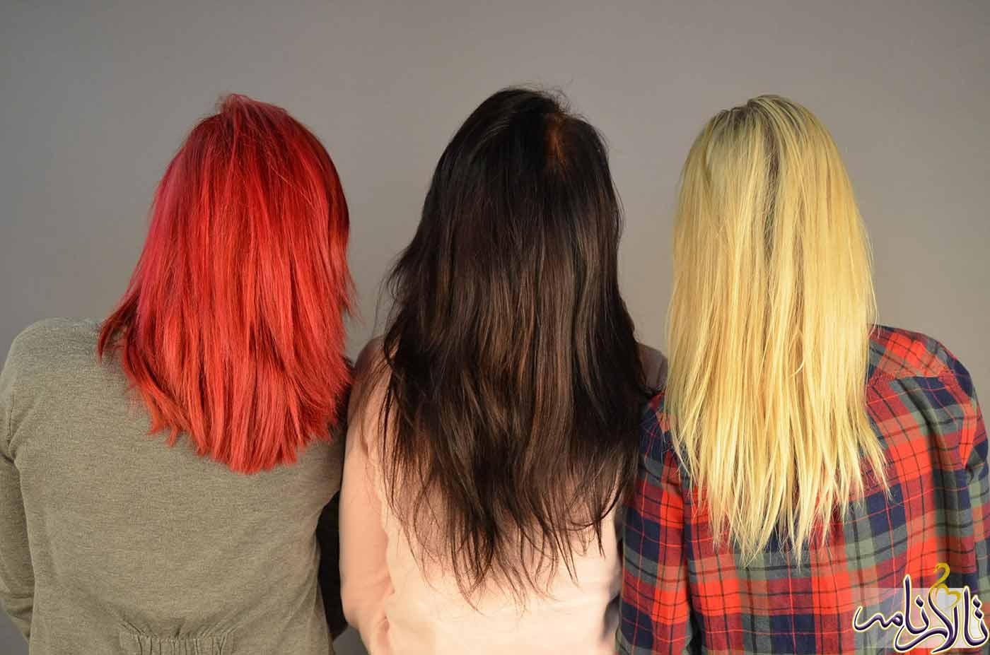 رنگ موی مناسب برای چهره شما کدام است؟