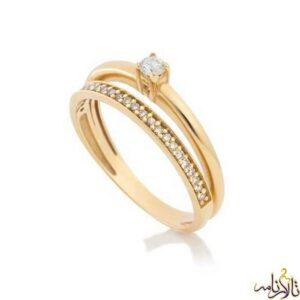 حلقه طلا سولیتر