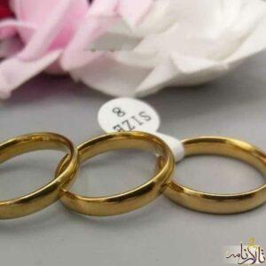 حلقه طلا ساده