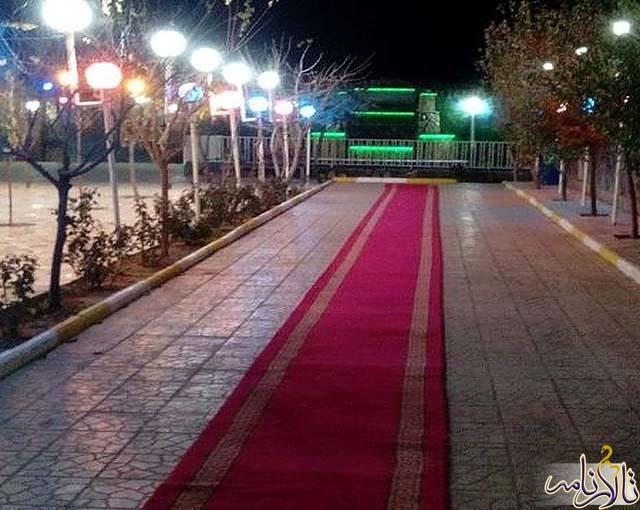 باغ تالار ونوس قزوین