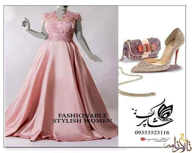 مزون لباس عروس شاپرک مشهد