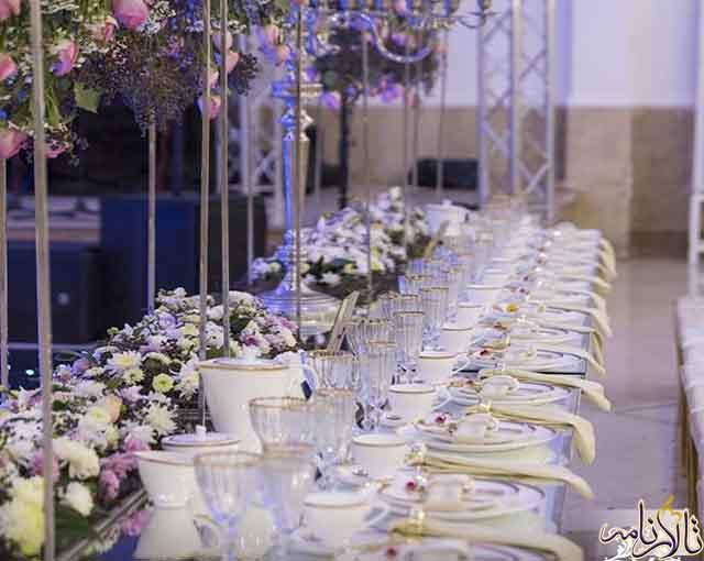 تشریفات مجالس عروسی ملل تهران