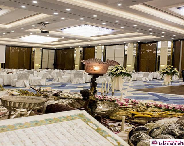 تالار پذیرایی هتل کایا لاله پارک تبریز