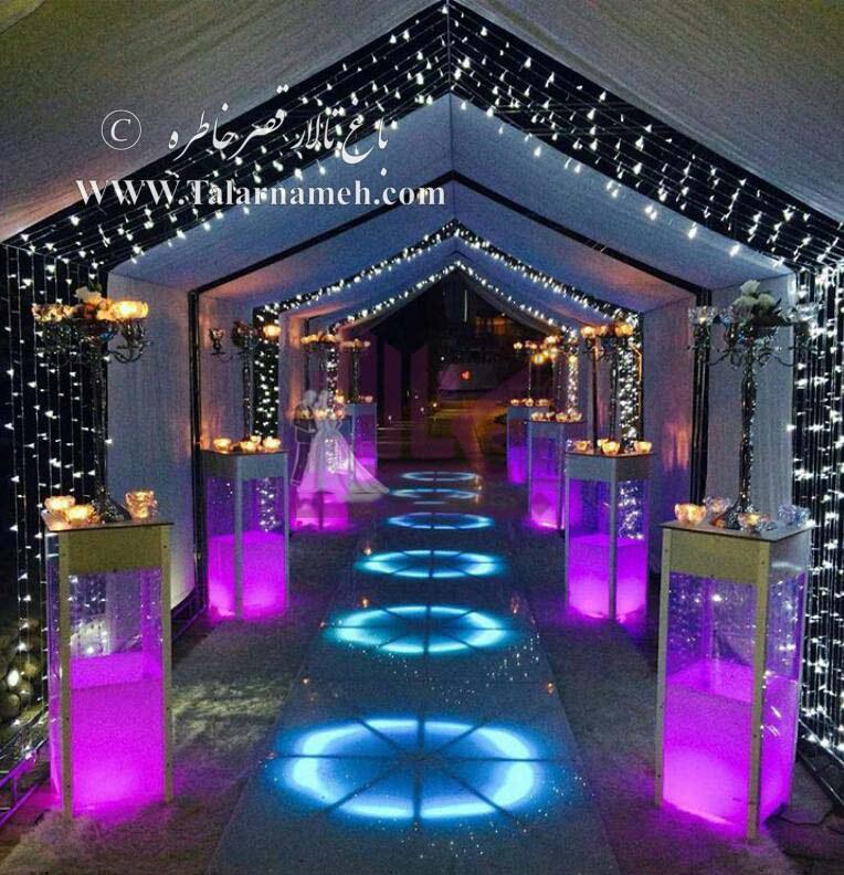 باغ تالار قصر خاطره شیراز
