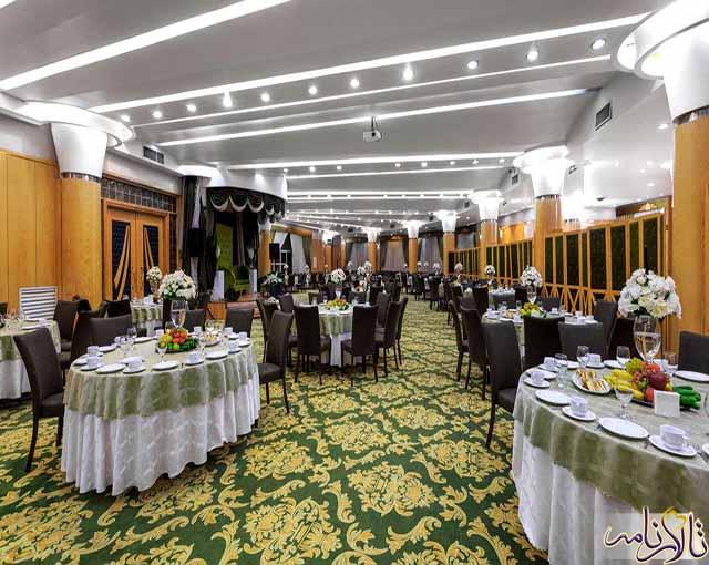 تالار پذیرایی آجودانیه تهران (تالار یاقوت و تالار زمرد)