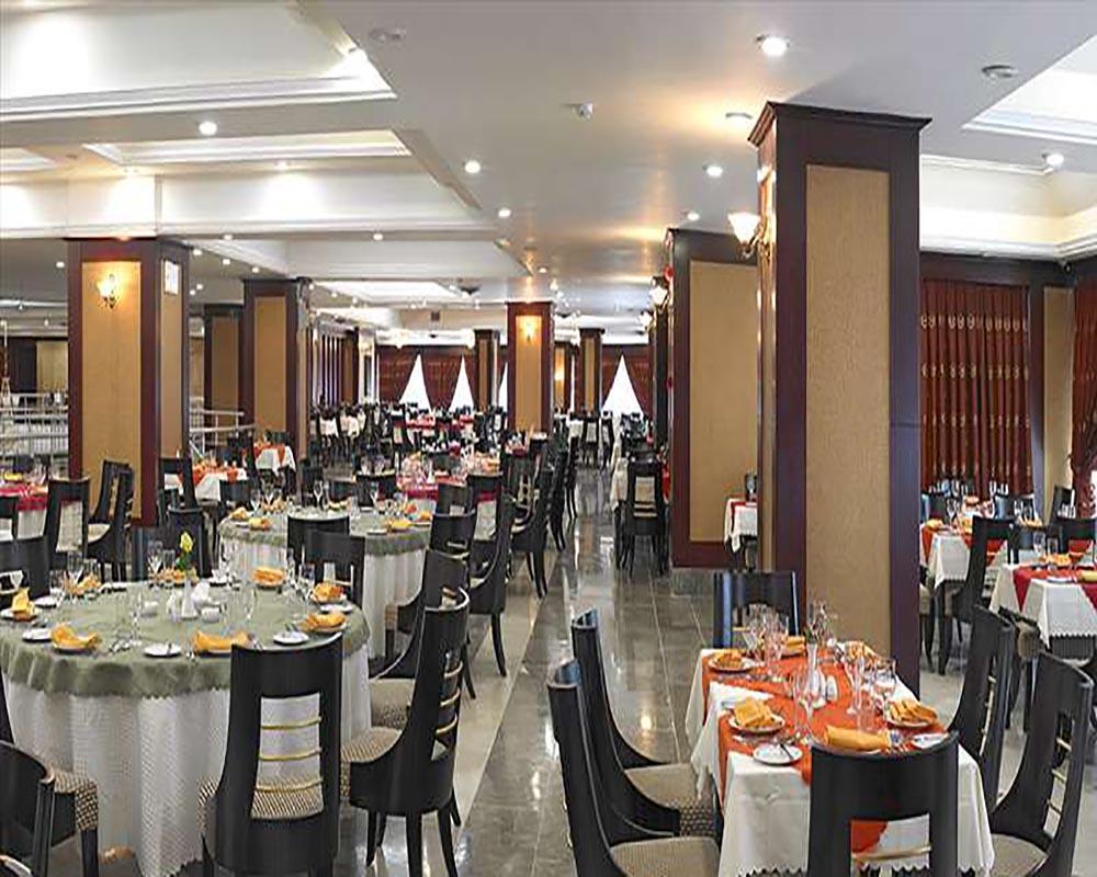 تالار پذیرایی هتل بین المللی شهریار تبریز
