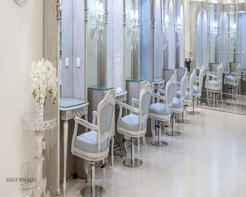 سالن عروس و زیبایی مینا رئوف تهران