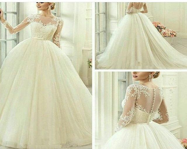 مزون لباس عروس سفید بخت خوزستان