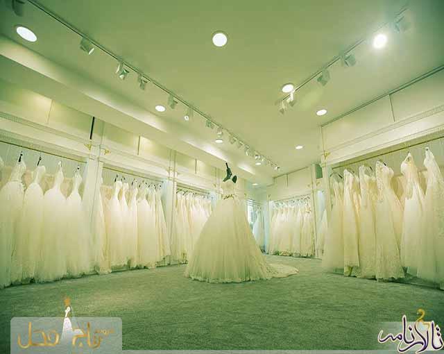 مزون عروس تاج محل تهران