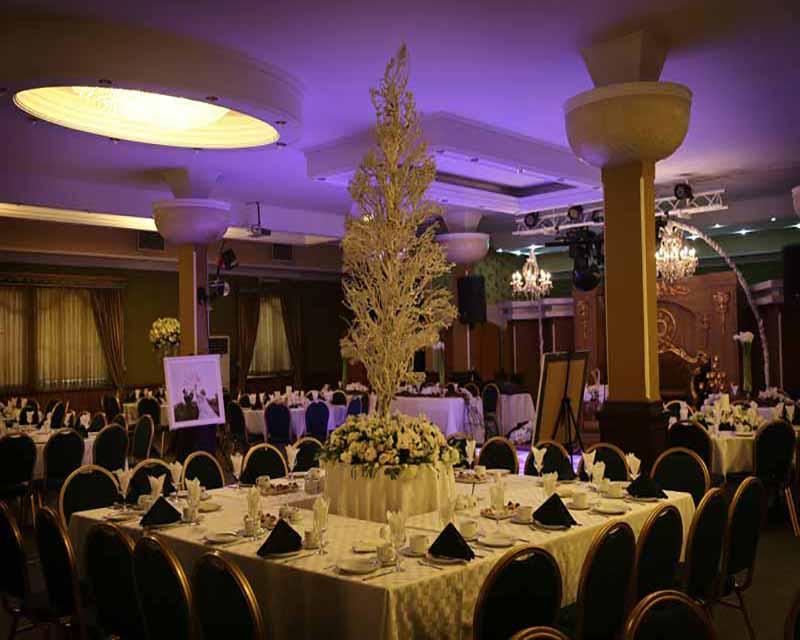 مجتمع پذیرایی و باغ تالار ماهان تهران