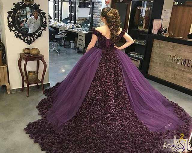 مزون لباس عروس مهری ماه شیراز