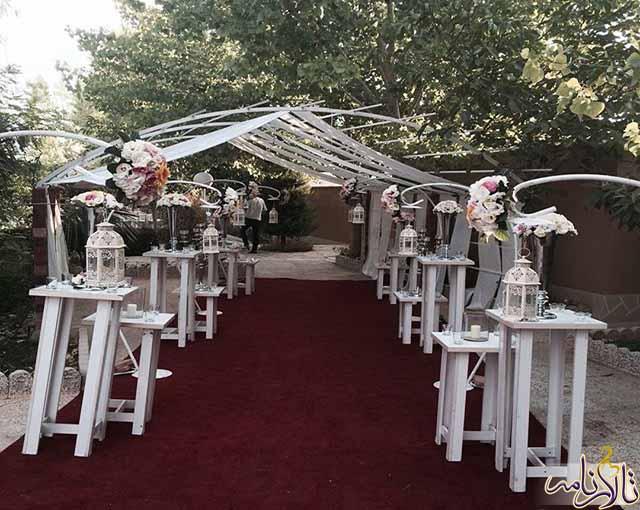 باغ تالار مهرسانا شیراز
