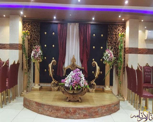 باغ تالار نازگل اصفهان