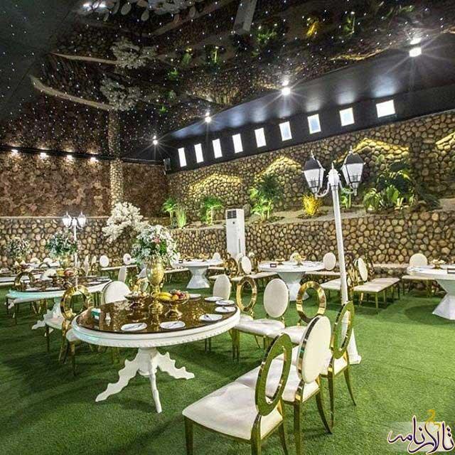 باغ تالار ونک اصفهان