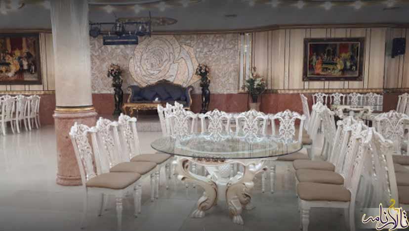 تالار پذیرایی سیاره تهران