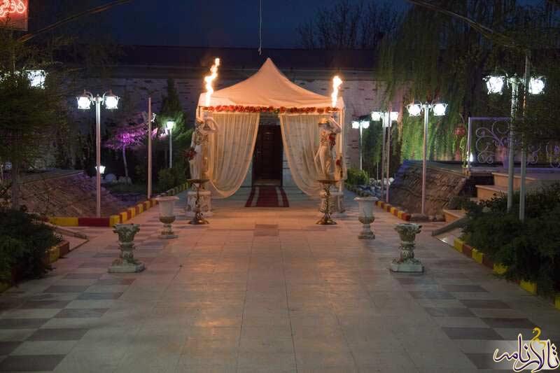باغ تالار الهیه کرج