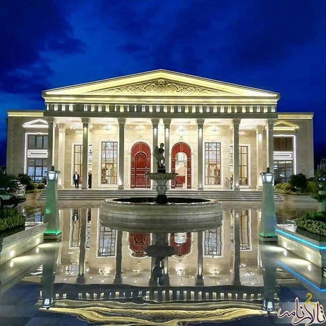تالار قصر طلایی ملارد شهریار
