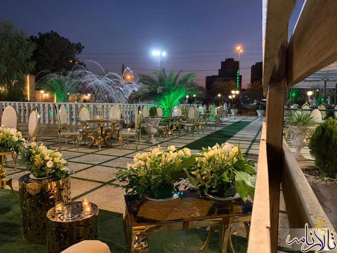 باغ تالار نگین سبز اصفهان