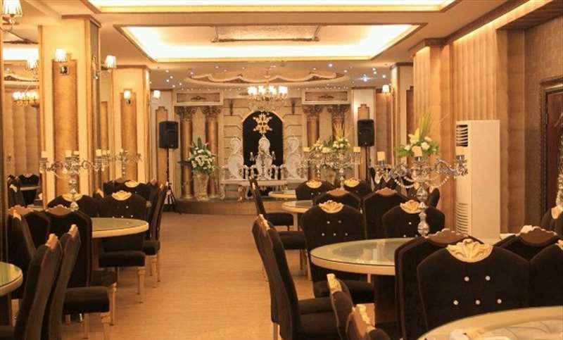 تالار تشریفاتی قصر ندا تهران